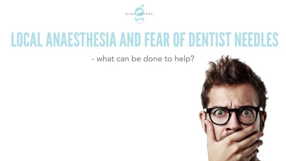 fear of dentist needles